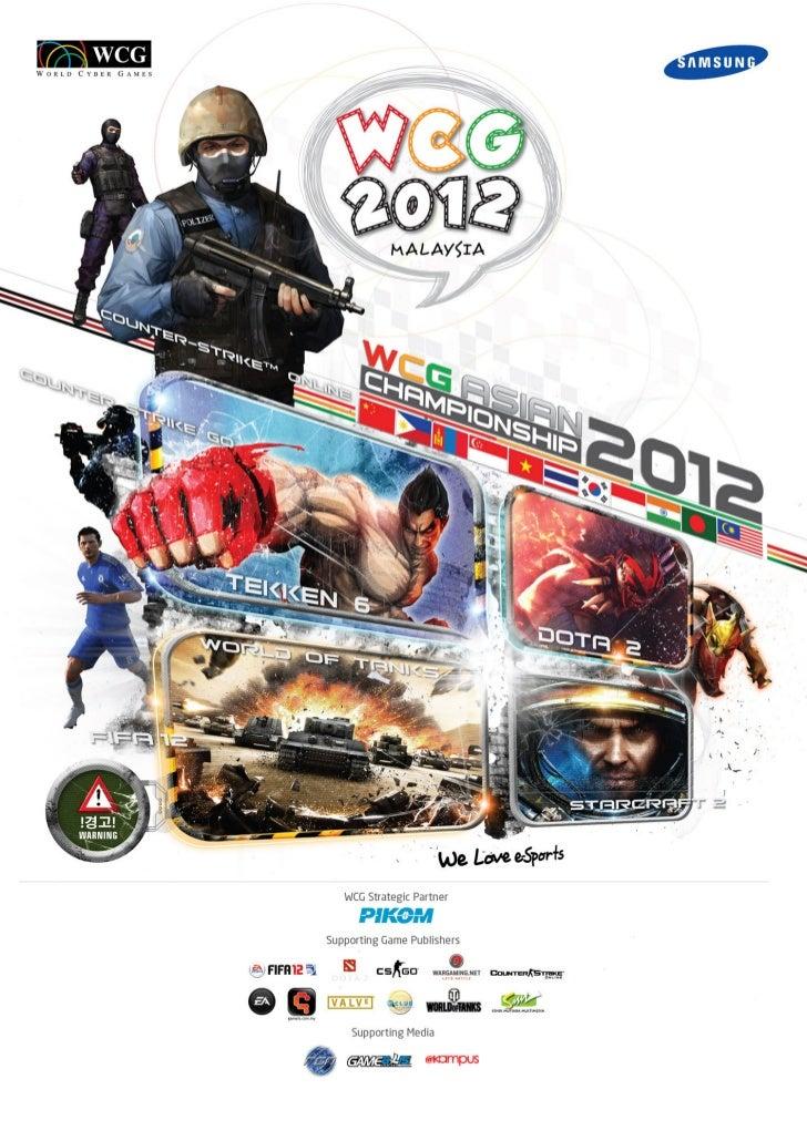 World Cyber Games Malaysia 2012