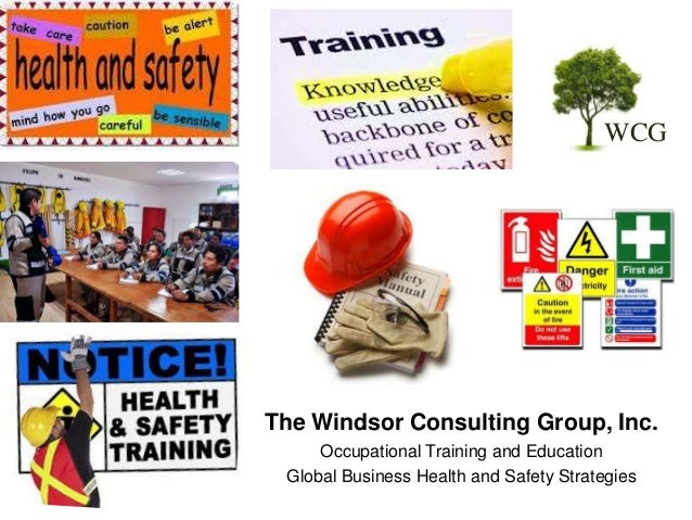Occupational Health and Safety Training Courses