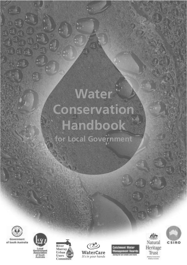 Water Conservation Handbook for Local Governments - Australia