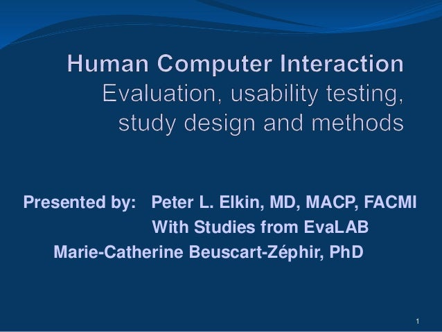 Human Computer Interaction Research Papers