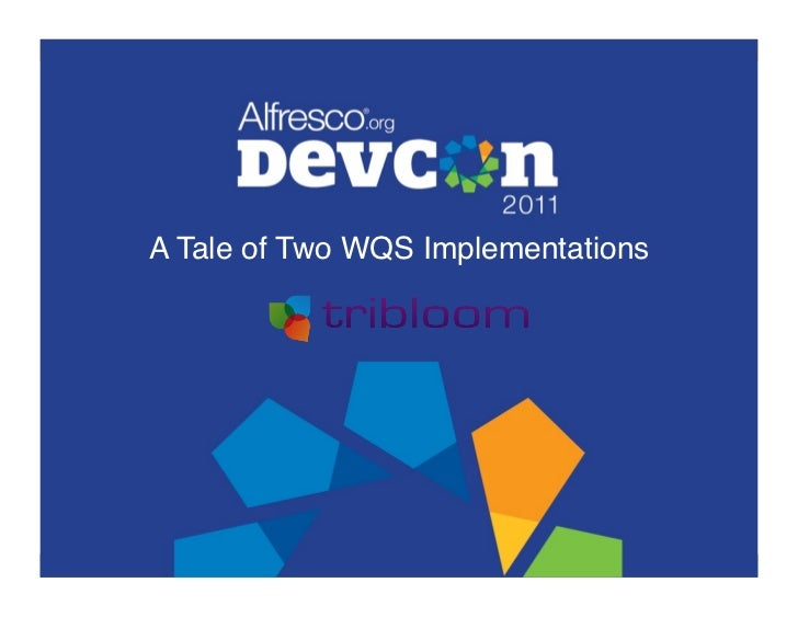 A Tale of Two WQS Implementations!