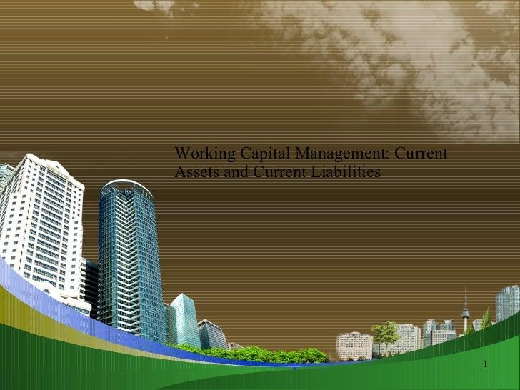 Wcm assets & laiblities @ppt doms