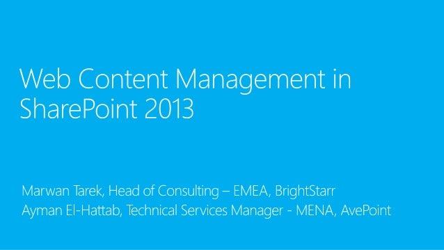 Demo: Content Authoring