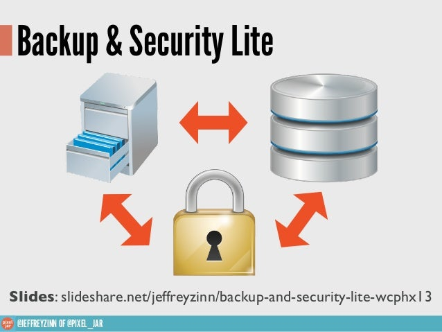 Backup and Security Lite WCPHX13
