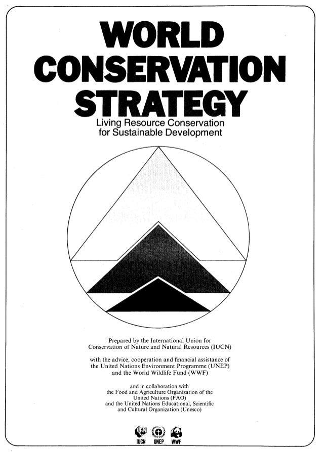 World Conservation Strategy