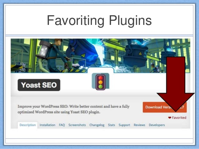 Favoriting Plugins