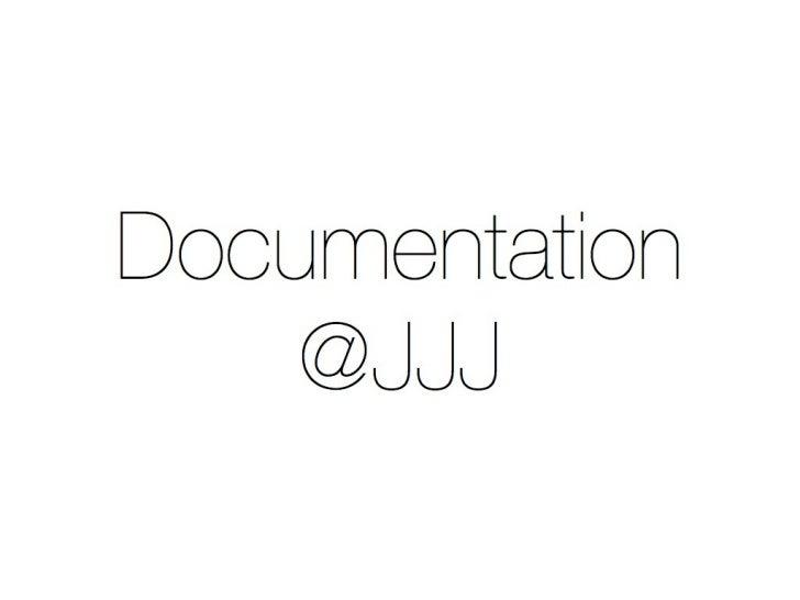 Documentation - WCYVR 2012