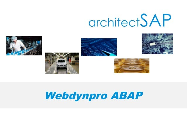 Do You Want To Build Simple Webdynpro ABAP Application? Here It Is?