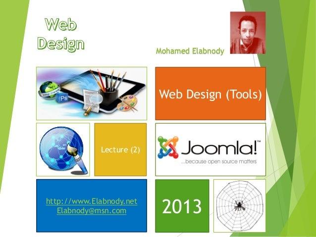 Web Design (Tools)