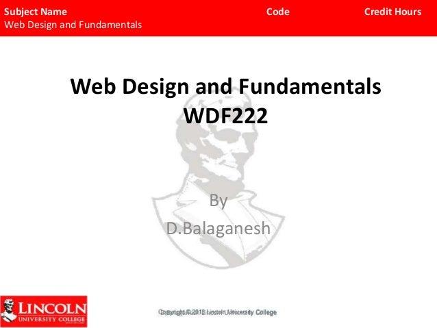 Wdf22chp 1