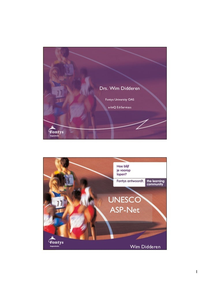 UNESCO ASPNet and the Time Project
