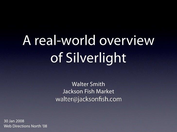 WDN08 Silverlight