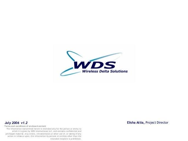 Elisha Attia WDS APM TERMINALS Kingston WiFi Project