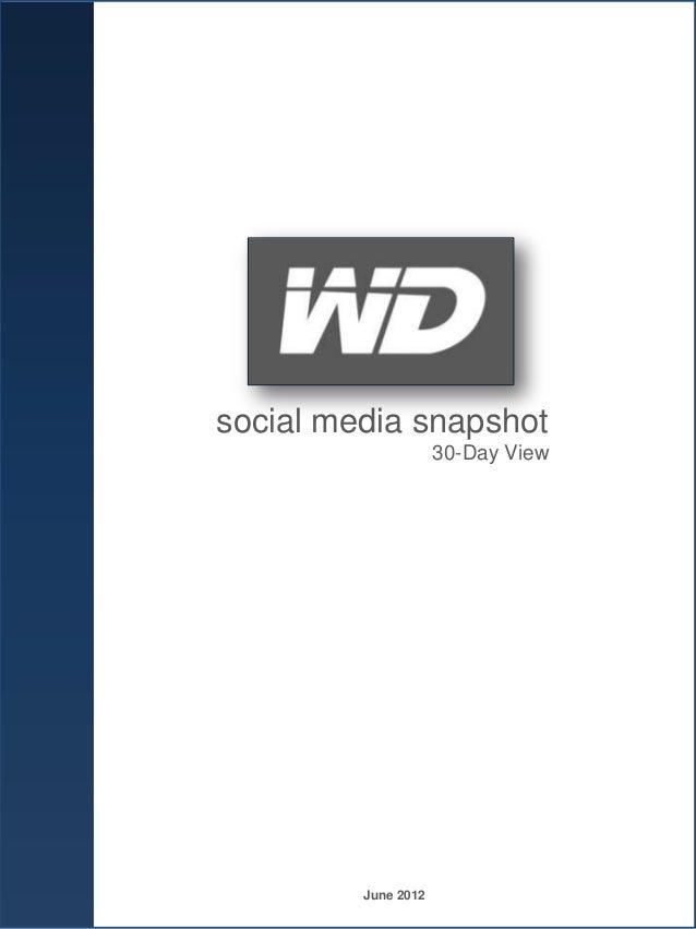 Western Digital snapshot