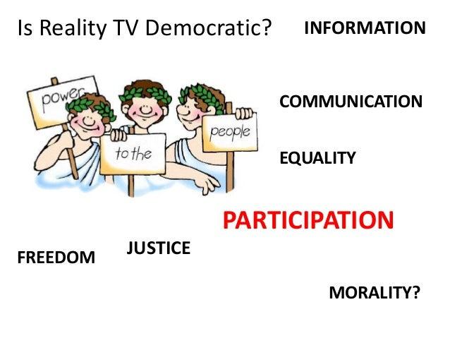 We media reality tv