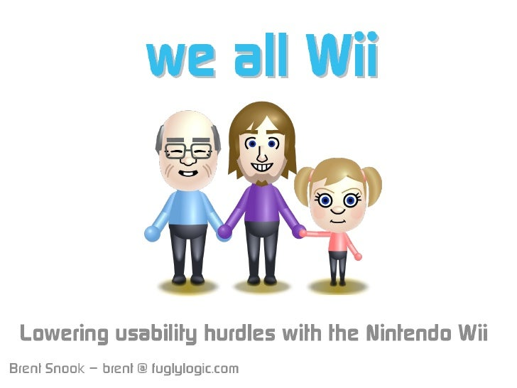 We All Wii