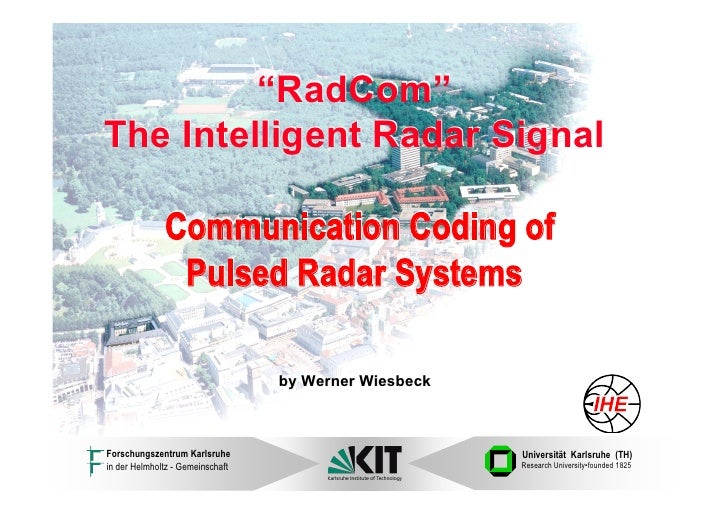 WE3.L10.2: COMMUNICATION CODING OF PULSED RADAR SYSTEMS