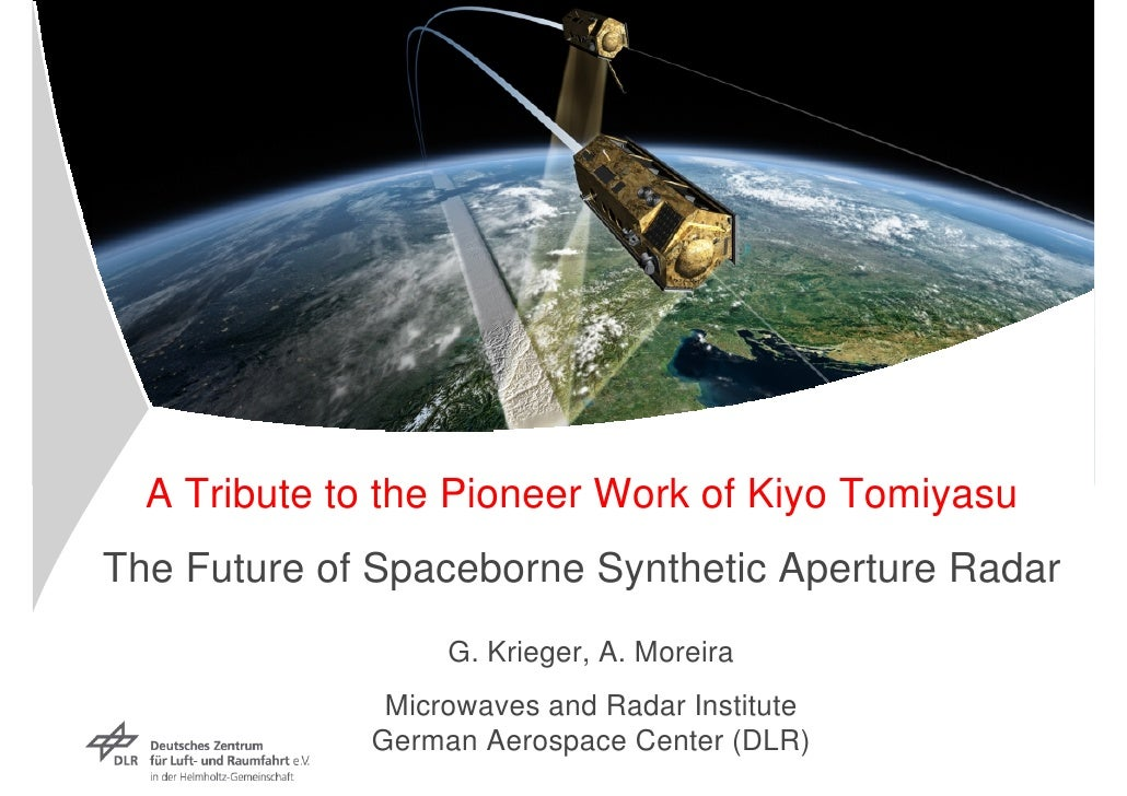 WE3.L10.3: THE FUTURE OF SPACEBORNE SYNTHETIC APERTURE RADAR