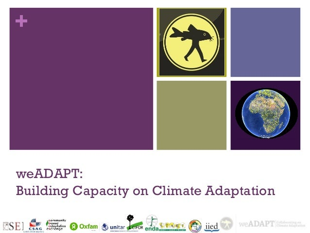 +weADAPT:Building Capacity on Climate Adaptation