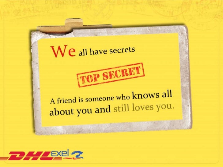 We all have secrets
