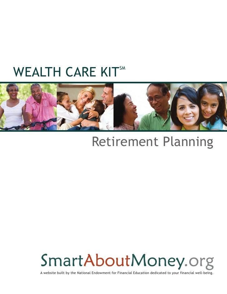 Wealth Care Kit: Retirement Planning