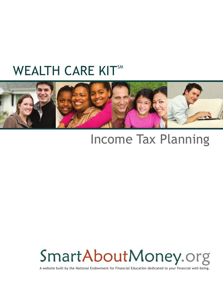 WEALTH CARE KIT                                                   SM                                  Income Tax Planning ...