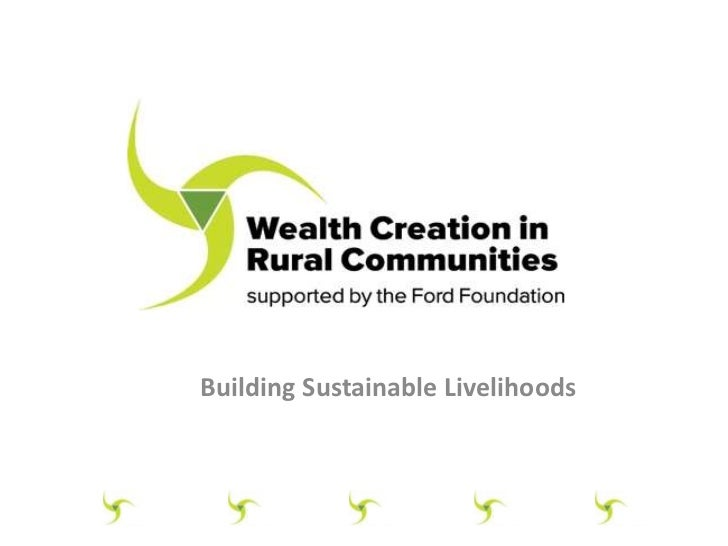A Brief Overview of Wealth Creation and Value Chains