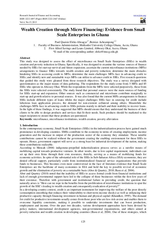Research Journal of Finance and Accounting ISSN 2222-1697 (Paper) ISSN 2222-2847 (Online) Vol.4, No.15, 2013  www.iiste.or...