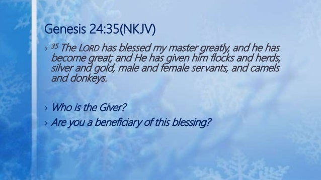 Wealth Transfer In The Bible 1
