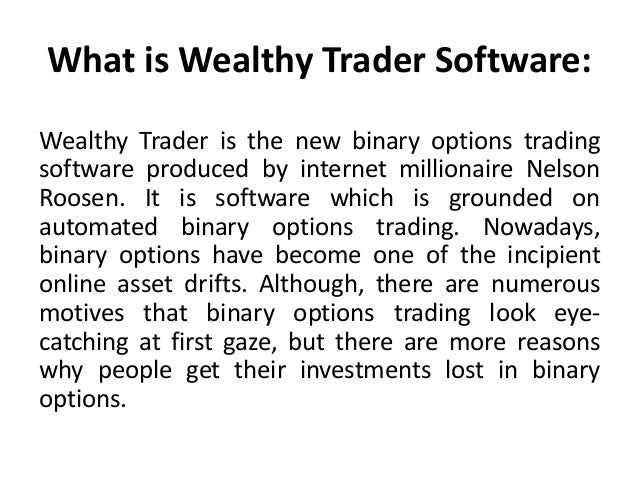 Investing with binary options
