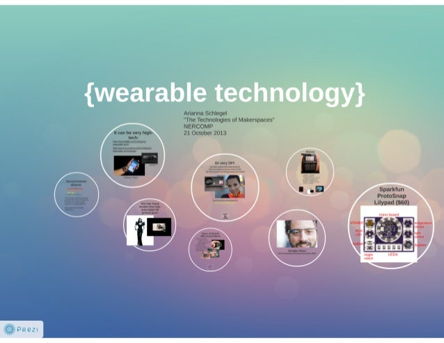 Wearable technology (Prezi)