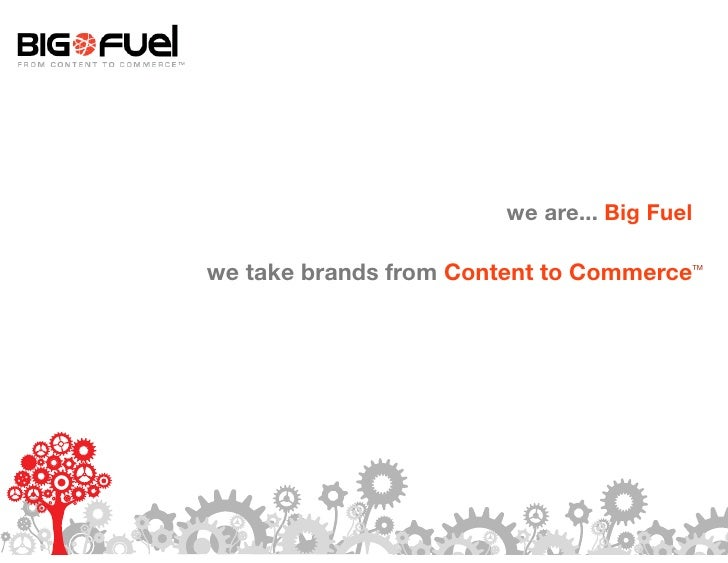 We Are Big Fuel (with video)