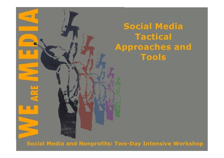 Social Media                               Tactical                            Approaches and                             ...