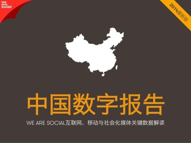 中国数字报告2014版