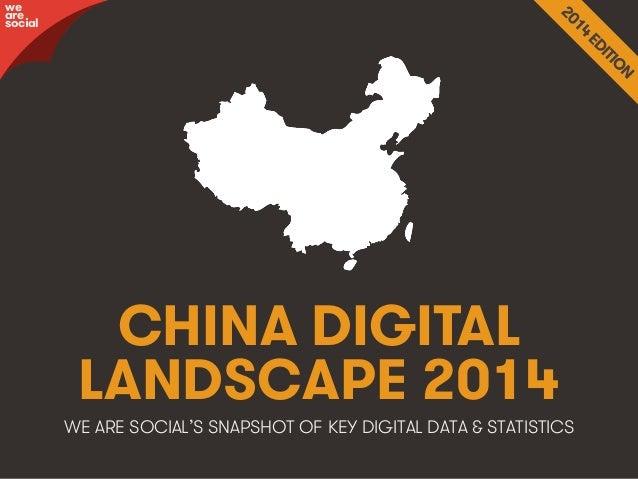 Social, Digital & Mobile in China 2014