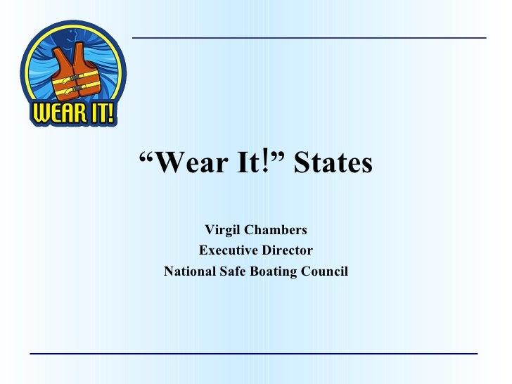 Wear It! States 2009