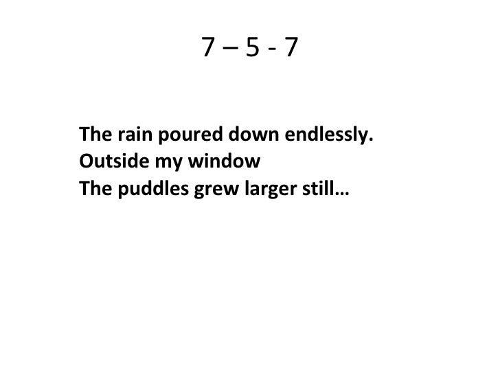 haiku poems about rain - photo #24