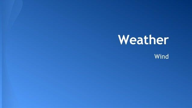 Weather Wind