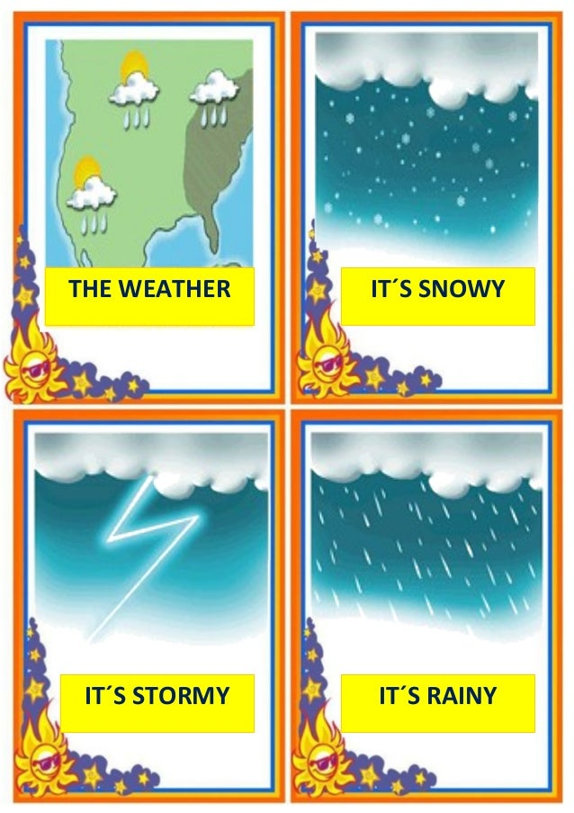 Print Climate and weather flashcards | Easy Notecards