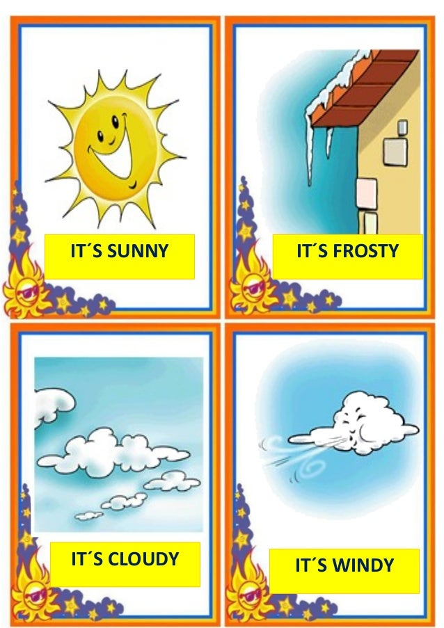 Weather flashcards[1]