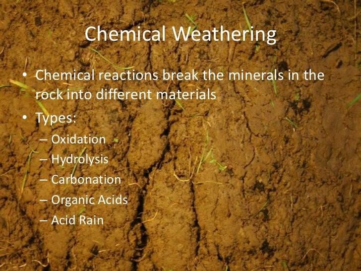 Weathering Soils Amp Erosion