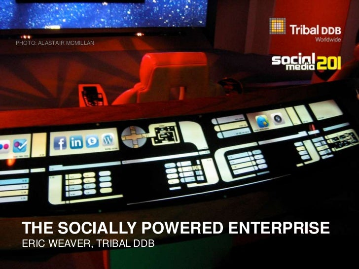 THE SOCIALLY POWERED ENTERPRISE<br />ERIC WEAVER, TRIBAL DDB CANADA			<br />PHOTO: ALASTAIR MCMILLAN<br />
