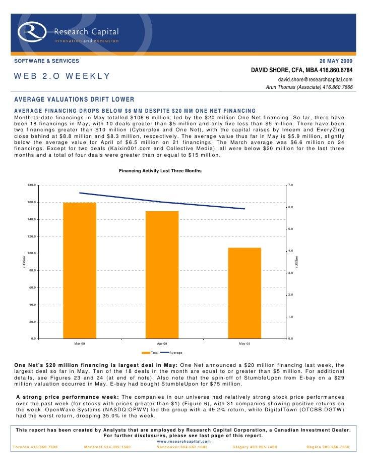 Web 2.0 Weekly - 09-05-26