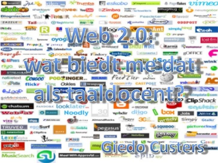 Web 2.0 Levende talen Zwolle