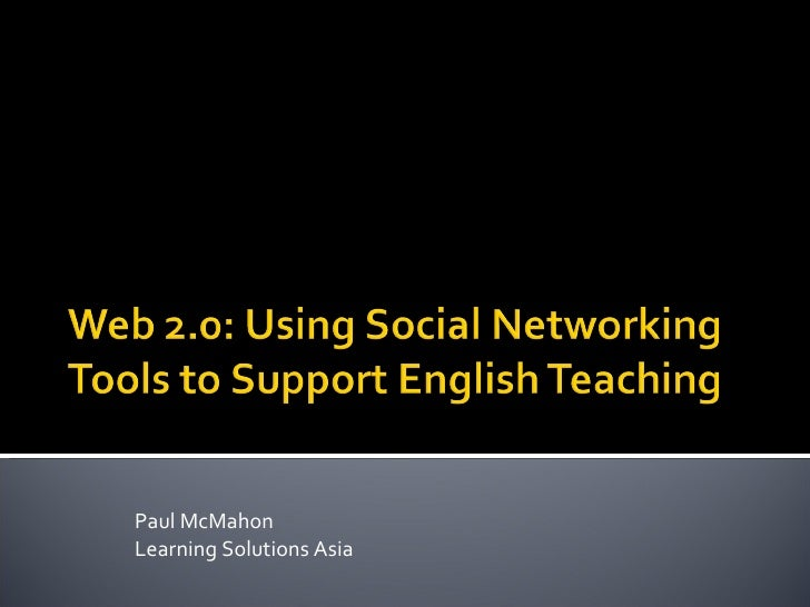 Web 2 For English