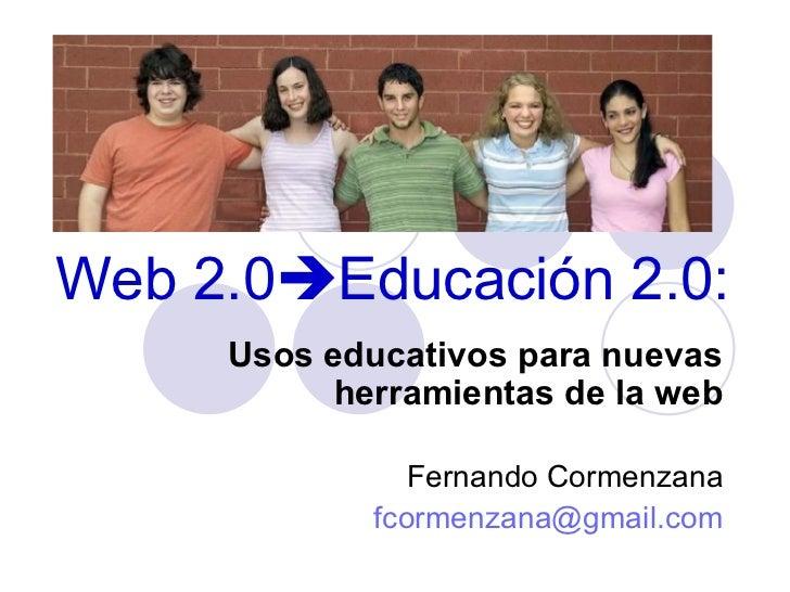 Web 2 y Educación