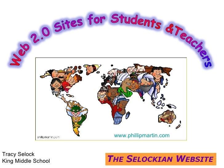 www.phillipmartin.com Tracy Selock King Middle School