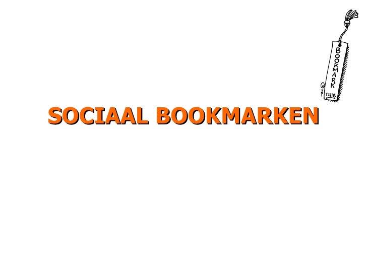 SOCIAAL BOOKMARKEN