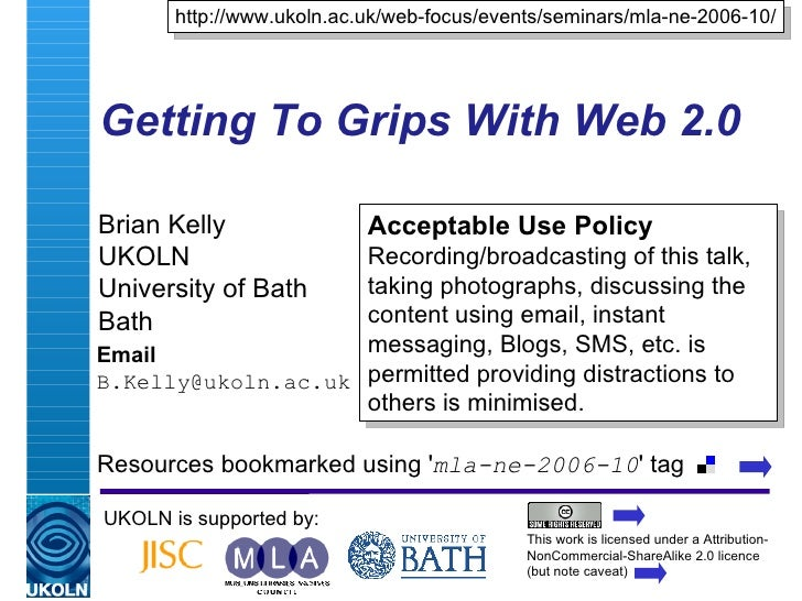 Web 2.0: Implications For The Cultural Heritage Sector