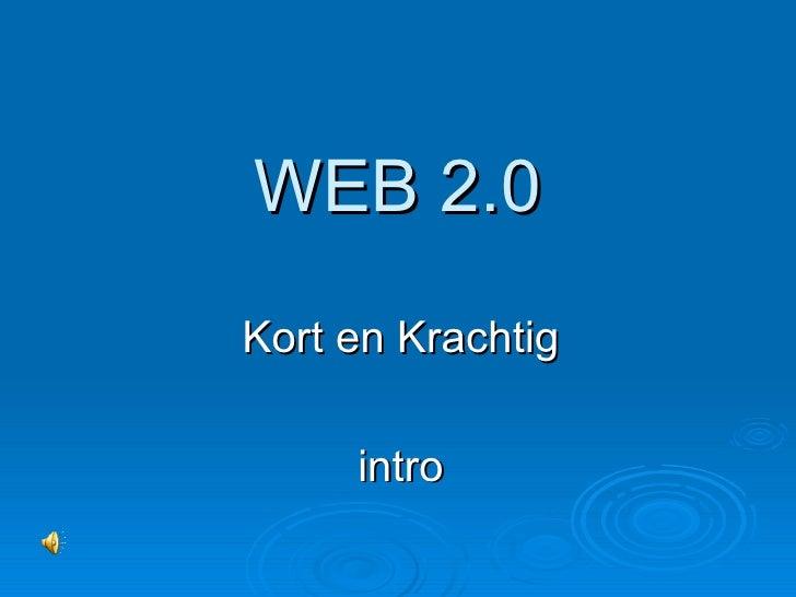 Web 2.0 Introductie